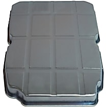 52108327AC Transmission Pan - Black, Steel, Stock Depth, Direct Fit, Sold individually