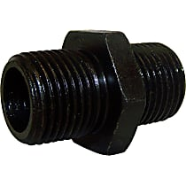 53007563AB Oil Filter Adapter - Black, Steel, Direct Fit