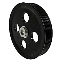 53032956AA Power Steering Pump Pulley - Black, Steel, Direct Fit, Sold individually