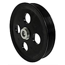 Crown 53032956AA Power Steering Pump Pulley - Black, Steel, Direct Fit, Sold individually