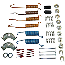 5352476HK Brake Hardware Kit - Direct Fit, Set of 2