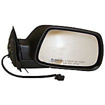 Passenger Side Heated Mirror - Power Glass, Manual Folding, With Memory, Paintable