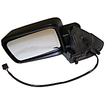 Driver Side Heated Mirror - Power Glass, Power Folding, With memory, Paintable