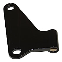 55395393AE Door Hinge - Front, Driver Side or Rear, Black, Steel, Direct Fit, Sold individually