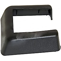 Crown 55397090AB Hinge Cover - Black, Plastic, Direct Fit