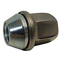 Lug Nut - Stainless, Stainless Steel, Acorn, M14-1.50 Direct Fit, Sold individually