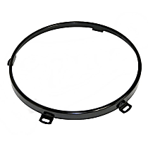 68003772BLK Headlight Retainer - Direct Fit, Sold individually