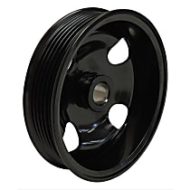 Crown 68032253AB Power Steering Pump Pulley - Black, Steel, Direct Fit, Sold individually