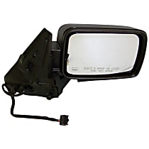 Passenger Side Heated Mirror - Power Glass, Power Folding, With memory, Paintable
