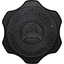 68053132AA Power Steering Reservoir Cap - Black, Plastic, Direct Fit, Sold individually