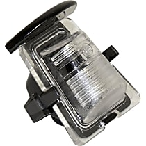 Crown 68064721AA License Plate Light - Clear, Plastic, Direct Fit, Sold individually
