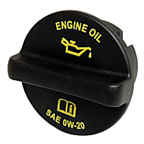 Crown 68241631AA Oil Filler Cap - Black, Plastic, Direct Fit, Sold individually