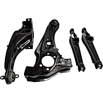 CAK7 Trailing Arm - Black, Steel, Direct Fit, Kit