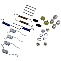 Crown H7170 Brake Hardware Kit - Direct Fit