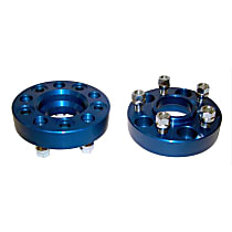 RT Off-Road RT32003 Wheel Spacer - Anodized blue, Aluminum, Direct Fit, Set of 2