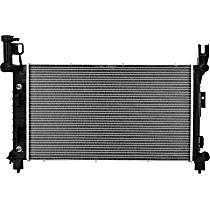 2505 Aluminum Core Plastic Tank Radiator, 25.56 x 14.88 x 1.25 in. Core Size