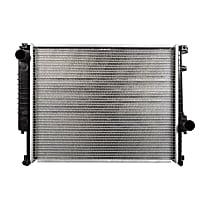 2526 Aluminum Core Plastic Tank Radiator, 21.38 x 17 x 1.31 in. Core Size