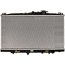 Aluminum Core Plastic Tank Radiator, 13.75 x 26.75 x 0.63 in. Core Size