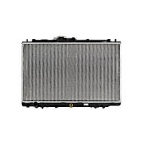 Aluminum Core Plastic Tank Radiator, 16.75 x 28.25 x 0.63 in. Core Size