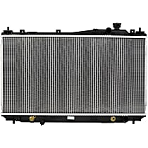 Aluminum Core Plastic Tank Radiator, 13.75 x 26 x 0.63 in. Core Size