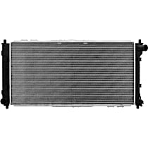 Aluminum Core Plastic Tank Radiator, 27.19 in. L x 13.38 in. W x 0.63 in. Thickness Core Size