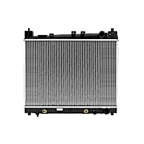 3001 Aluminum Core Plastic Tank Radiator, 13.75 x 19.19 x 0.63 in. Core Size