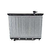 3107 Aluminum Core Plastic Tank Radiator, 18.13 x 27.06 x 0.94 in. Core Size