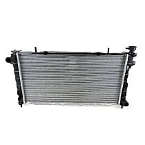 Aluminum Core Plastic Tank Radiator, 30.25 x 16.44 x 0.94 in. Core Size