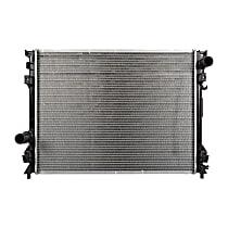Aluminum Core Plastic Tank Radiator, 24.13 x 18.44 x 1.25 in. Core Size