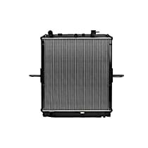 Aluminum Core Plastic Tank Radiator, 24.38 x 23.13 x 1.25 in. Core Size