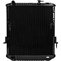 Metal Core Brass Tank Radiator, 23.25 x 21.56 x 1.94 in. Core Size