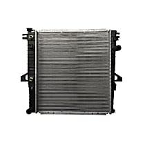 Radiator-1 Row Plastic Tank Aluminum Core CSF 3372