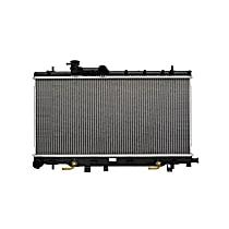 3356 Aluminum Core Plastic Tank Radiator, 13.38 x 27.25 x 0.94 in. Core Size