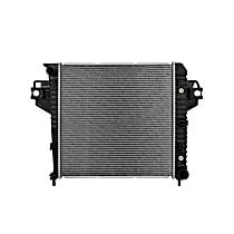 Aluminum Core Plastic Tank Radiator, 19.88 x 20 x 1.13 in. Core Size