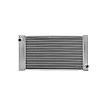 Aluminum Core Plastic Tank Radiator, 23.88 x 12.63 x 0.88 in. Core Size