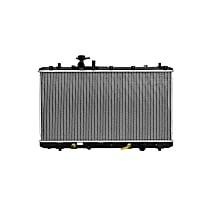 Aluminum Core Plastic Tank Radiator, 14.75 x 27.88 x 1.06 in. Core Size