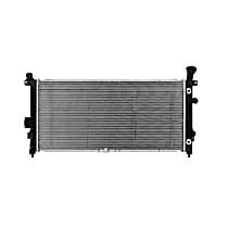 Aluminum Core Plastic Tank Radiator, 30.63 x 14.88 x 0.63 in. Core Size