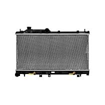 Aluminum Core Plastic Tank Radiator, 13.44 x 27.06 x 0.63 in. Core Size