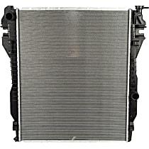 3529 Aluminum Core Plastic Tank Radiator, 26.63 x 32.69 x 1.63 in. Core Size