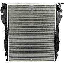 Aluminum Core Plastic Tank Radiator, 26.63 x 32.69 x 1.63 in. Core Size