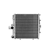 3552 Aluminum Core Aluminum Tank Radiator, 13.38 x 14.5 x 1.63 in. Core Size