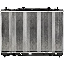 Aluminum Core Plastic Tank Radiator, 16.75 in. L x 25.88 in. W x 0.88 in. Thickness Core Size