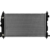 3577 Aluminum Core Plastic Tank Radiator, 26.75 in. L x 15.25 in. W x 0.88 in. Thickness Core Size