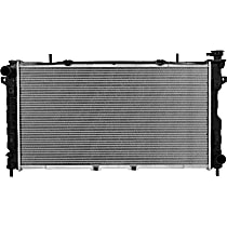 Aluminum Core Plastic Tank Radiator, 30.25 x 16.69 x 1.25 in. Core Size