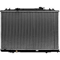 Aluminum Core Plastic Tank Radiator, 19.69 x 30.25 x 0.63 in. Core Size