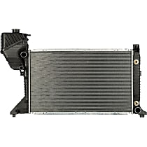 3661 Aluminum Core Plastic Tank Radiator, 26.63 x 16.63 x 1.63 in. Core Size
