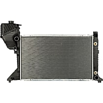 Aluminum Core Plastic Tank Radiator, 26.63 x 16.63 x 1.63 in. Core Size