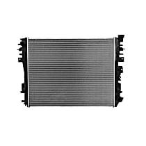 3662 Aluminum Core Plastic Tank Radiator, 27.50 x 21.56 x 1.25 in. Core Size