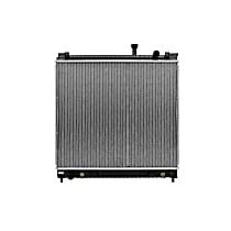 Aluminum Core Plastic Tank Radiator, 23.44 x 27.063 x 1.25 in. Core Size