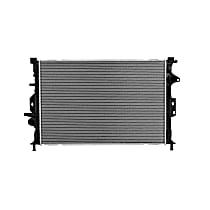 3707 Aluminum Core Plastic Tank Radiator, 26.50 x 17.69 x 0.88 in. Core Size